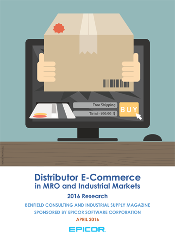 Distributor eCommerce in MRO and Industrial Markets