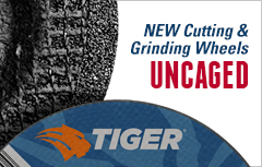 Weiler Corp. Tiger cutting and grinding wheels