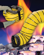 Flexaust insulated blower hose