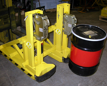 Liftomatic FTA drum handling unit