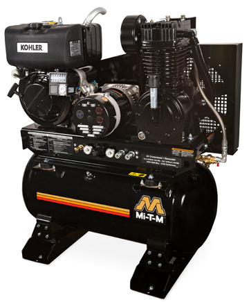 Mi-T-M 30-gallon air compressor