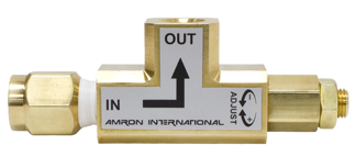 Amron pressure limiting valve
