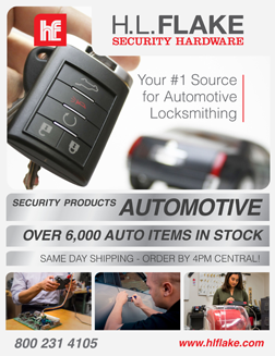 H.L. Flake automotive locksmithing catalog