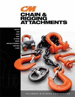 CM Chain & Rigging Attachments catalog