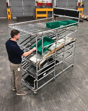 Creform flow rack