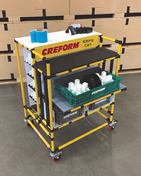 Creform kitting cart