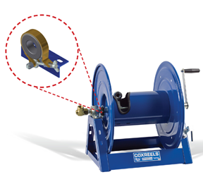 Coxreels heavy duty band brake accessory