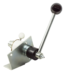 Coxreels three-way pin lock