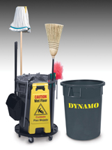 Delamo Dynamo trash can