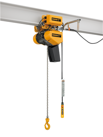 Harrington Hoists electric chain hoist