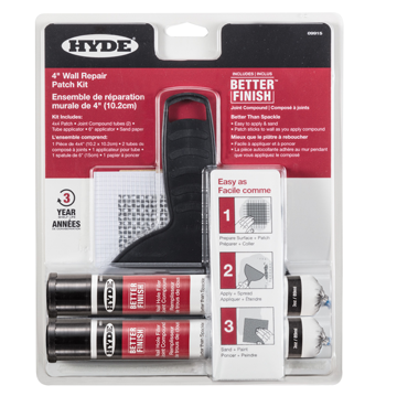 Hyde Better Finish Wall Repair Patch Kit