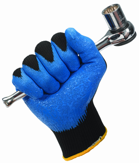 Nitrile foam coated gloves
