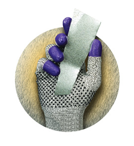 Jackson Safety G60 Purple Nitrile cut-resistant gloves