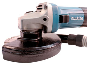 Makita dust collecting cutting guard