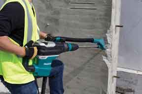 Makita dust extraction attachment