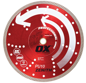 OX Tools PU10 diamond blade