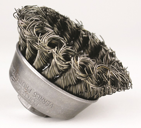 Osborn knotted-wire cup brush