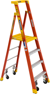 Werner Podium ladder