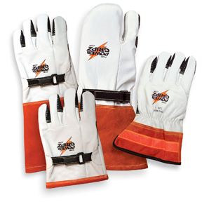 Power Gripz leather gloves