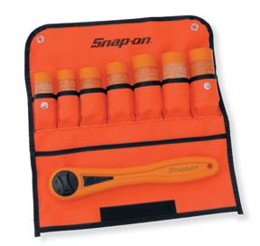 Snap-on non-conductive composite hand tools