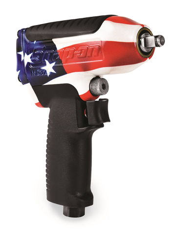 Snap-on patriotic air impact wrench