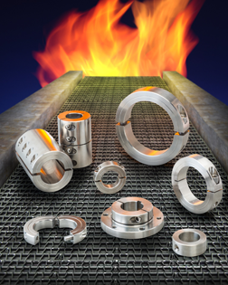 Stafford high-temperature shaft collars