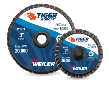 Tiger BobCat mini flap disc