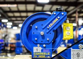 Coxreels UL-approved reels