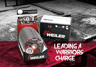 Weiler Tiger abrasives