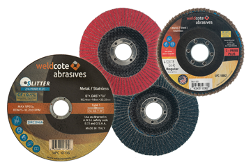 Weldcote abrasives