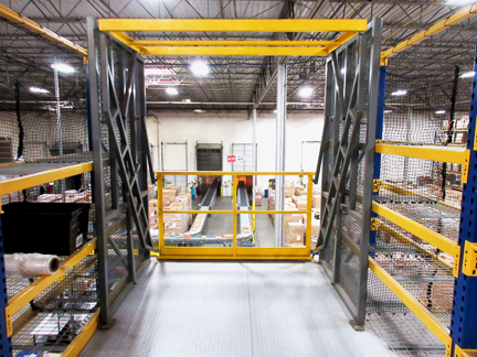Pallet Drop Zone Safety Gate