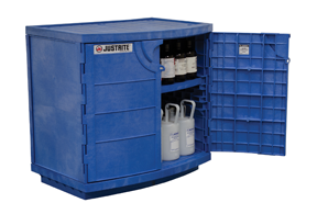 Justrite corrosve chemical storage