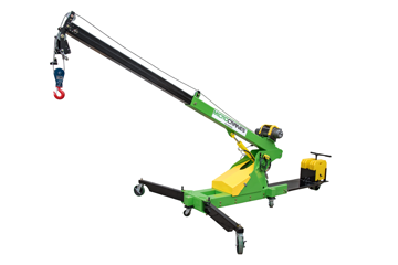 Microcrane portable roof crane