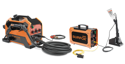 Surfox 205 and Surfox TIG and spot weld system