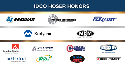 IDCO Hose Honors suppliers