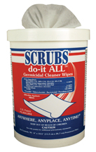 Scrubs do-it All Germicidal Cleaner Wipes