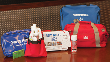 First Aid Go Bag