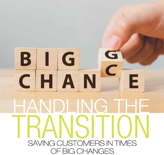 Handling the transition