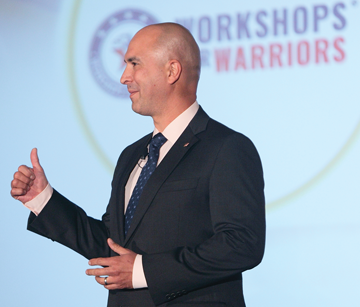 Hernán Luis y Prado, founder and CEO of Workshops for Warriors