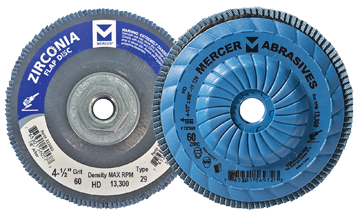 Mercer Zirconia flap disc