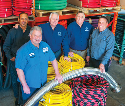 Moss Rubber and Equipment Corp. team members