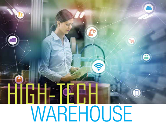 High-tech warehouse