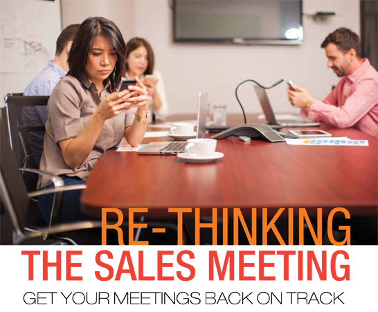 Re-thinking the sales meeting