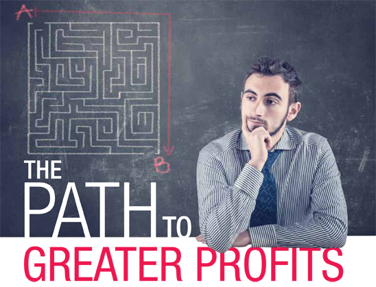 Greater profits