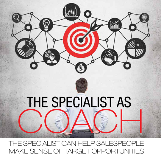 the specialist as coach