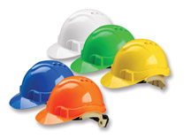 Serpent ventilated safety helmets
