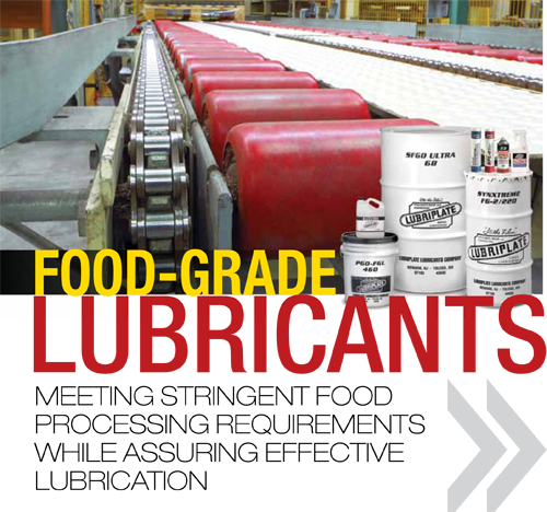 Training Tips Food Grade Lubricants Industrial Supply Magazine