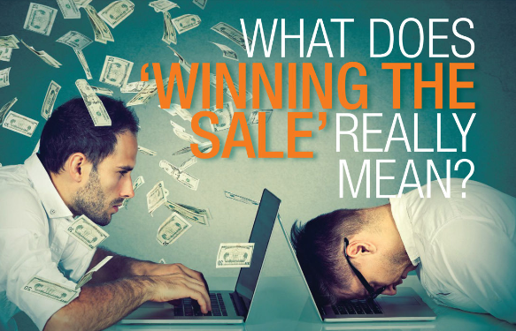 winning the sale