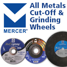 Mercer All Metal Cut-Off Wheels