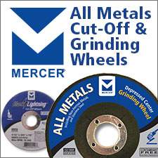 Mercer All Metals Cut-Off and Grinding Wheels